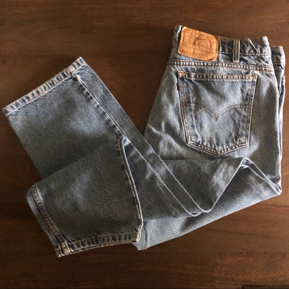 Size 36 Waist X 30 Leg Dark Denims Levi's 505 Vintage Men's Jeans Clothing, Shoes & Accessories Men's Clothing